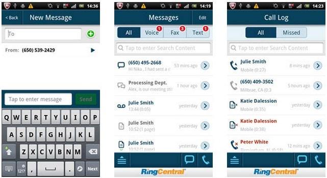 Ringcentral android app