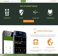 PhonePower Homepage