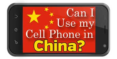Using Phone in China