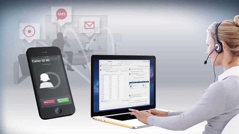 VoIP predictive dialer solution